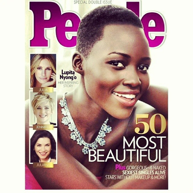 Lupita covers People Mag